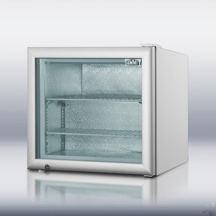 Summit Scfu285 2 2 Cu Ft Compact Freezer With 2