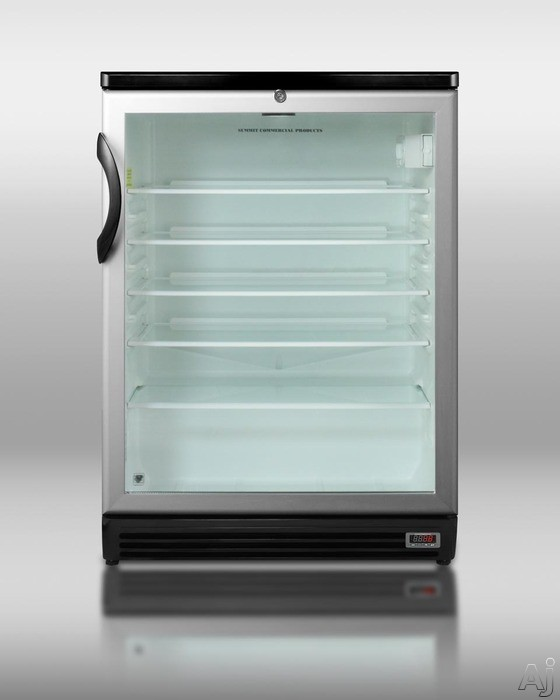 Summit Scr600blpub 5 5 Cu Ft Compact Refrigerator With