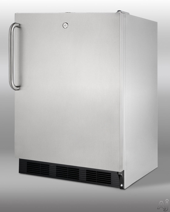 Summit SCR600LOSSD 24 Outdoor All Refrigerator With 5 5