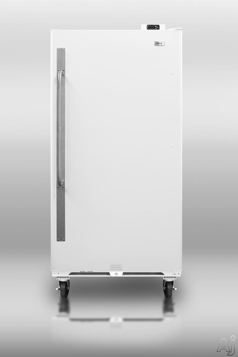 Summit Commercial Series SCUF18 17.7 cu. ft. Freestanding Upright Freezer with Interior Light, U.S. & Canada SCUF18