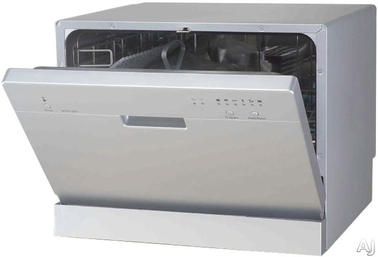 sunpentown sd2201 full console countertop dishwasher with