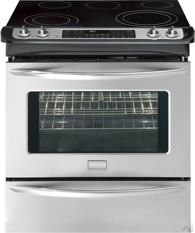 "Frigidaire Gallery Series FGES3065K 30"" Slide-in Smoothtop Electric Range with 5 Radiant Elements, U.S. & Canada FGES3065K"