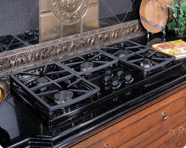 "Dacor Classic SGM365BLP 36"" Gas Cooktop with 5 Sealed Burners, Instant Re-Ignition, Blue ""On"", U.S. & Canada SGM365BLP"