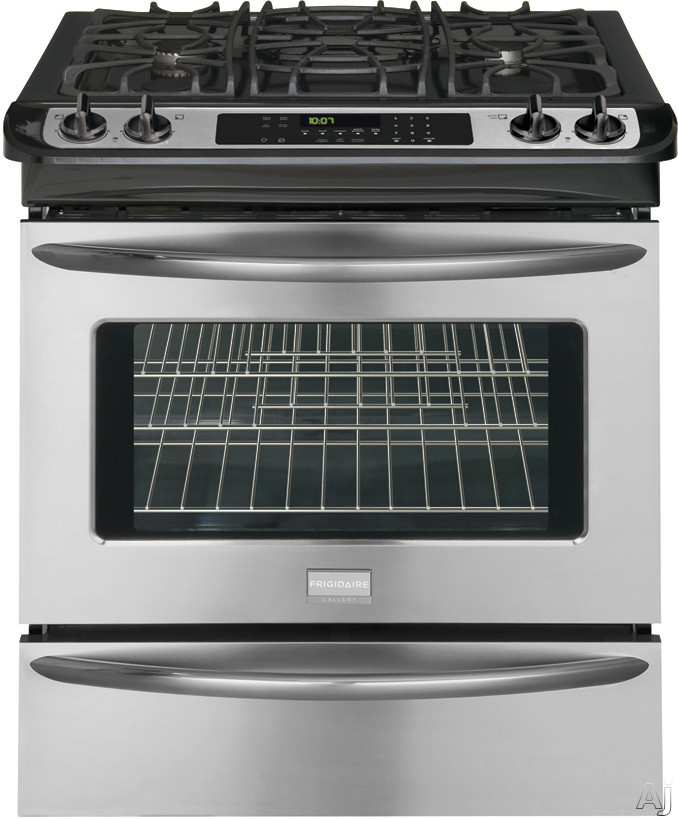 "Frigidaire Gallery Series FGGS3045KF 30"" Slide-in Gas Range with 4 Sealed Burners, 4.2 cu. ft. True, U.S. & Canada FGGS3045KF"