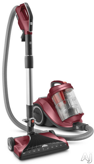 """Hoover WindTunnel Series SH40055 Bagless Canister Vacuum Cleaner with 14"""" Power Nozzle, Multi-stage, U.S. & Canada SH40055"""