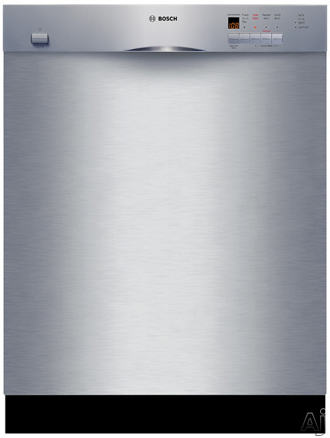 Bosch Platinum - Bosch Evolution 300 Series SHE43M05UC Full Console Dishwasher With 4 Wash Cycles Platinum Standard Racks 19 Hours Delay Start And Silence Rating Of 54 DB Sta