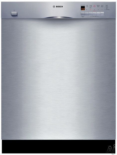 Bosch Platinum 4 - Bosch Evolution 500 Series SHE45M05UC Full Console Dishwasher With 4 Wash Cycles Platinum Mid Racks 19 Hours Delay Start And Silence Rating Of 51 DB Stainles