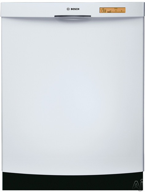 Bosch Dishwashers - Bosch Evolution 800 Series SHE68M02UC Semi-Integrated Dishwasher With 6 Wash Cycles Platinum Premium Racks 19 Hours Delay Start And Silence Rating Of 45 DB W