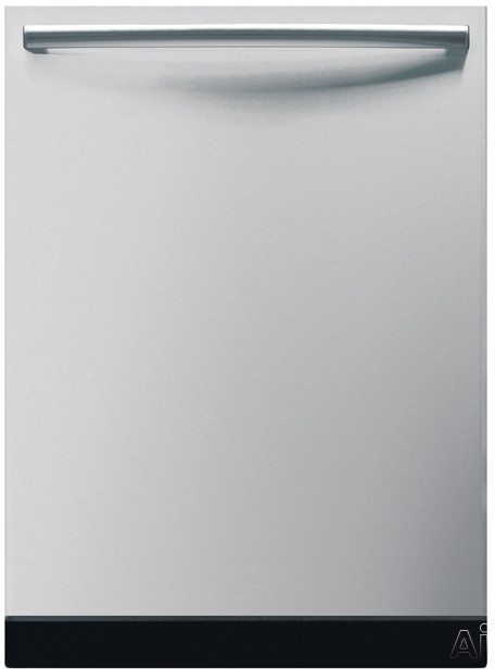 Bosch Dishwasher - Bosch Integra 500 Series SHX55M05UC Fully Integrated Dishwasher With 5 Wash Cycles Platinum Mid Racks 19 Hours Delay Start And Silence Rating Of 48 DB Stainl