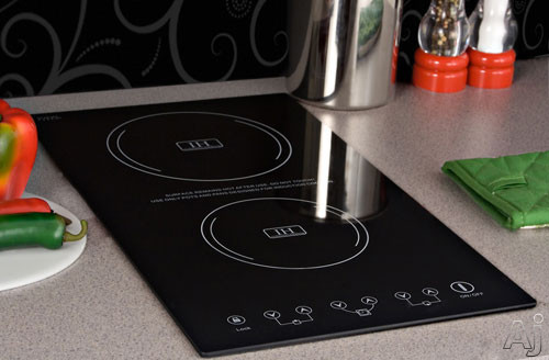 "Summit SINC2220 12"" Induction Cooktop with 2 Cooking Zones, 8 Power Levels, Automatic Pan Detection, U.S. & Canada SINC2220"