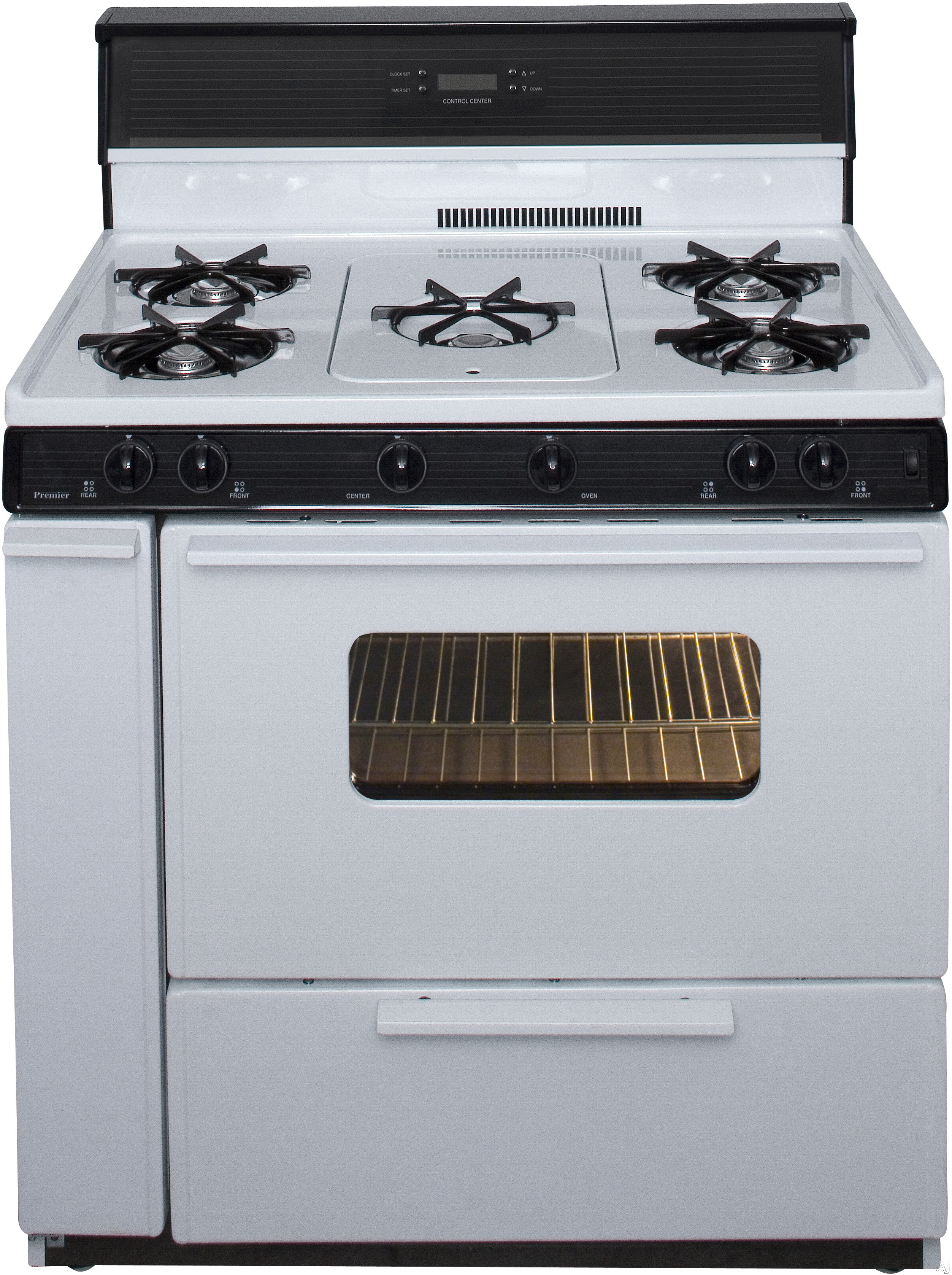 Premier slk249wp 36 freestanding gas range with 5 open for 17000 btu window air conditioner