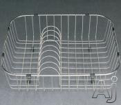 Picture of Houzer RB2400 Stainless Steel Rinsing Basket with Plate Rack 19-1/4 Inch x 16-1/4 Inch x 5-1/2""