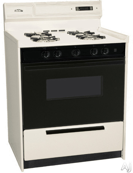 New stuff all time summit snm2307cdk 30 freestanding gas range with manual clean black glass - Clean gas range keep looking new ...