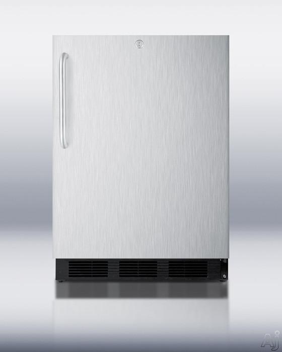 "Summit Professional Series SPR7OS 24"" Outdoor Refrigerator with 5.5 cu. ft. Capacity, Hidden, U.S. & Canada SPR7OS"