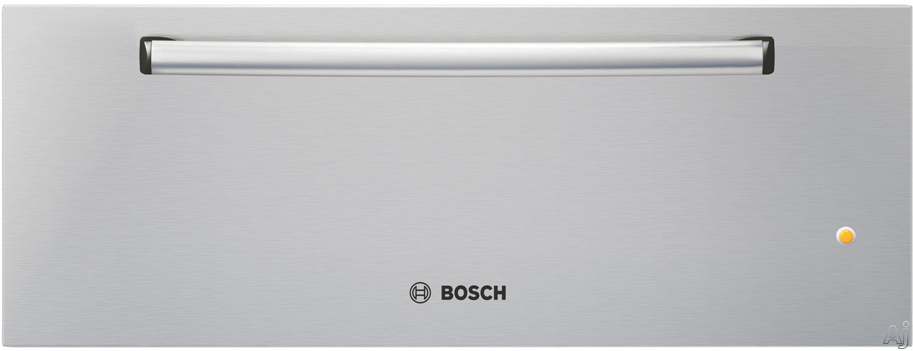 """Bosch 500 Series HWD300UC 30"""" Warming Drawer with 2.6 cu. ft. of Warming Space, Ball Bearing Drawer, U.S. & Canada HWD300UC"""