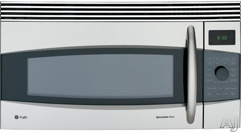 GE Profile Spacemaker Series JVM1790 1.7 cu. ft. Over-the-Range Microwave Oven with 1000 Cooking Watts, 10 Power Levels, Convection Cooking, Sensor Cooking, Tur