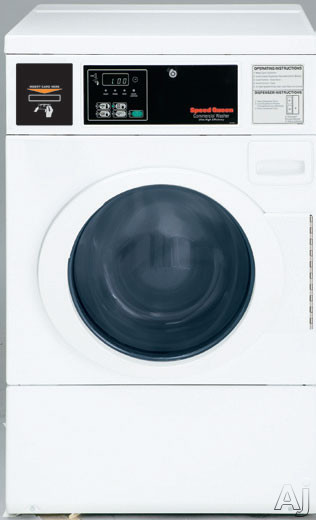 Micro-Display Front Load Washer Front Control