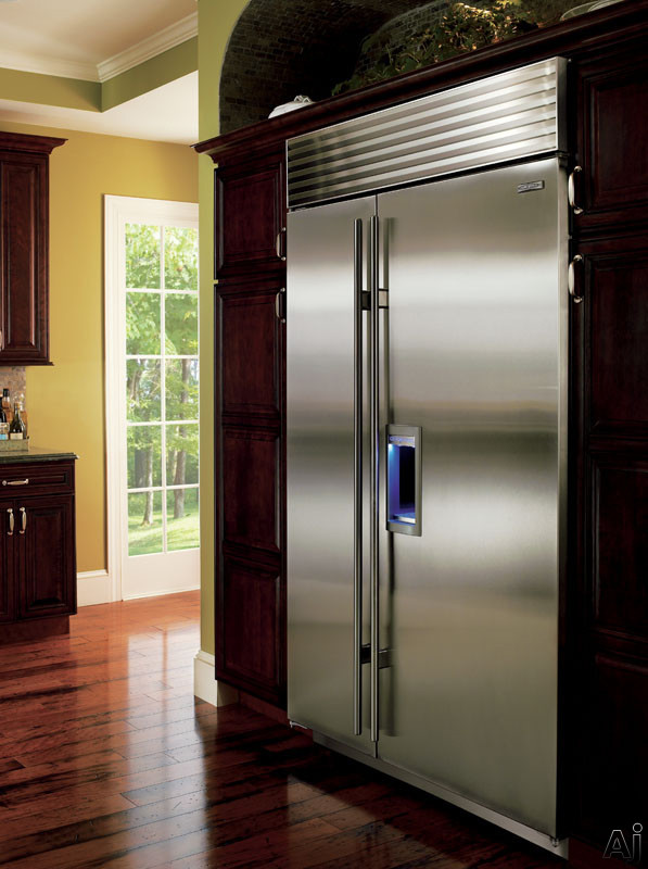Sub Zero Bi48sd 48 Quot Built In Side By Side Refrigerator