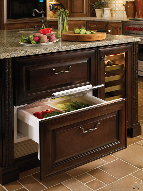 """Sub-Zero 700BR 27"""" Built-in Double Drawer Refrigerator ..."""