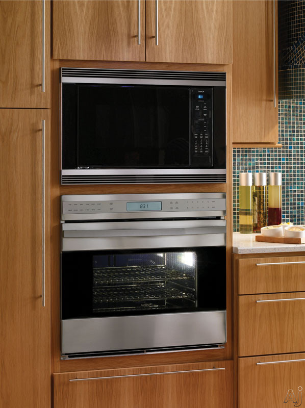 Countertop Microwave Rack : Wolf MC24 1.5 cu. ft. Countertop Microwave Oven with 900 Watts, 10 ...