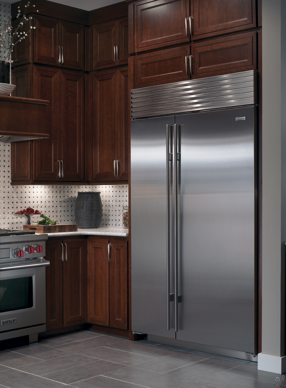 Sub Zero Bi48sid 48 Quot Built In Side By Side Refrigerator