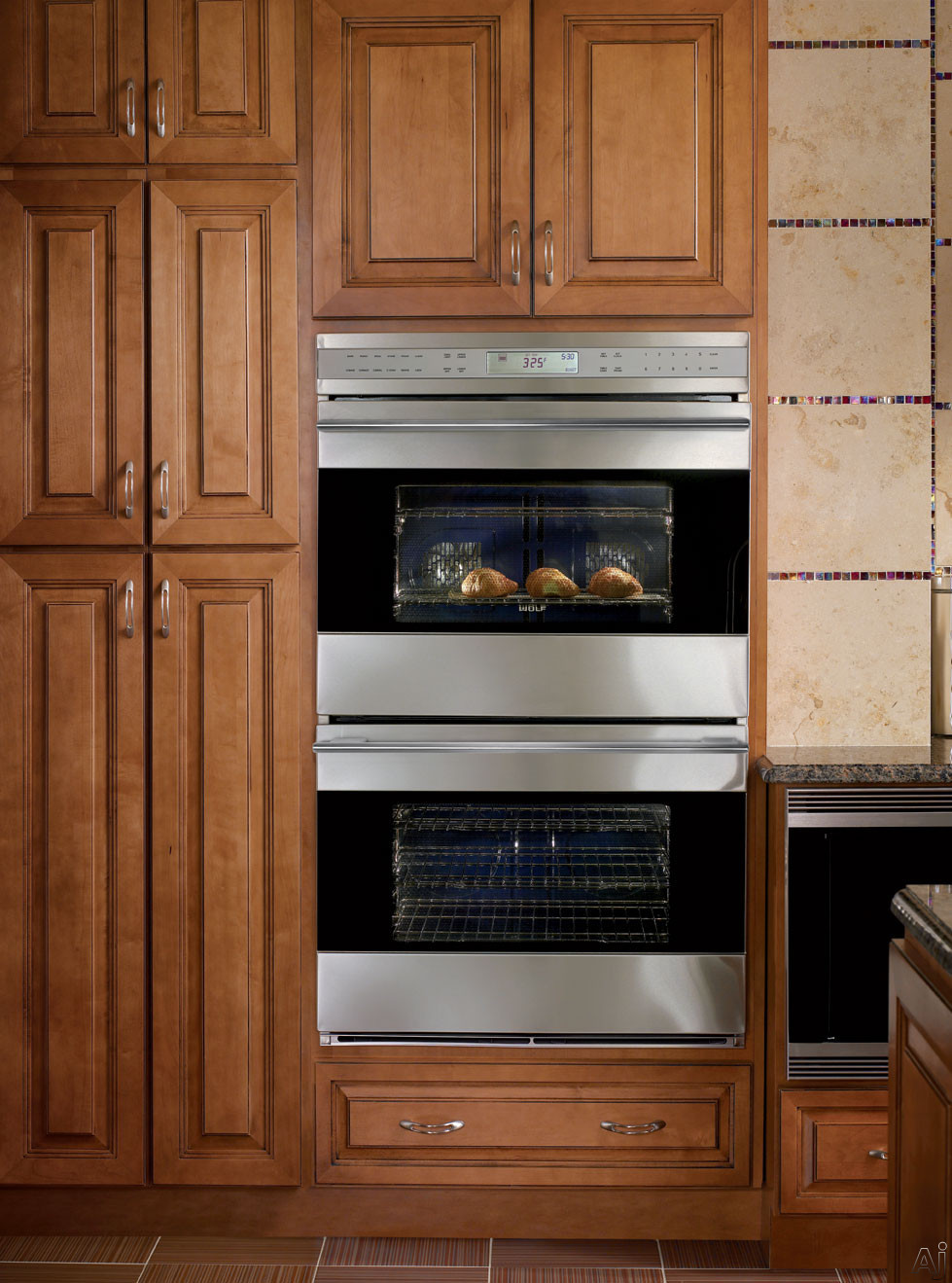 Kitchens With Wall Ovens ~ Double oven cabinet for sale