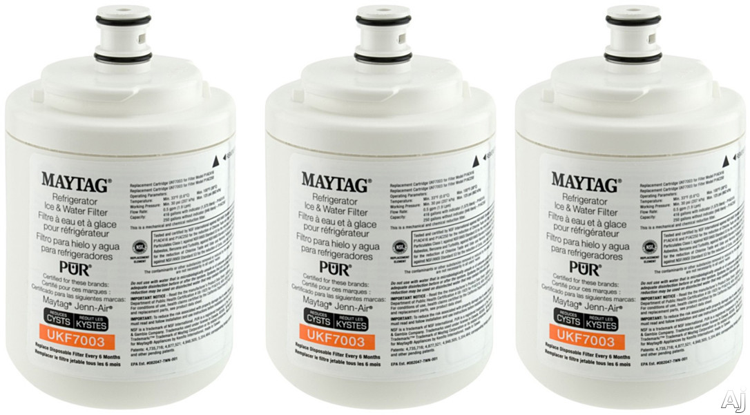 Refrigerator Water Filter (3-Pack)