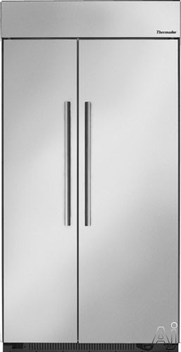 "Thermador T42BR820NS 42"" Built-in Side by Side Refrigerator with Gallon Door Bins, Holiday Mode, U.S. & Canada T42BR820NS"