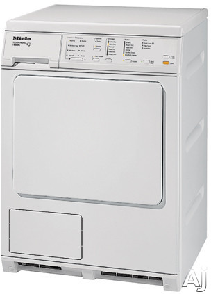 "Miele T8023C 24"" Ventless Electric Dryer with Large Capacity, 8 Pre-Set Drying Programs, Self, U.S. & Canada T8023C"