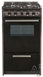 "Summit Professional Series TNM114RW 20"" Slide-In Gas Range with Manual Clean, Electronic Ignition, U.S. & Canada TNM114RW"