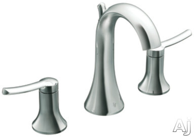 "ShowHouse Fina TS41708 Double Lever Lavatory Faucet Trim with 4-1 / 8"" Reach, 7-1 / 4"" Height, ADA, U.S. & Canada TS41708"