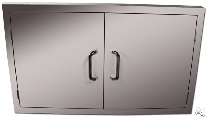 Vintage VAD30 30 Inch Double Access Doors  Stainless Steel