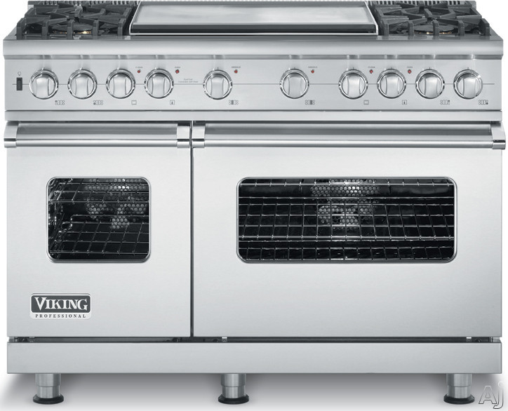 Viking Vdsc5484gss 48 Pro Style Dual Fuel Range With 4