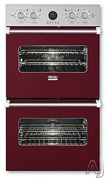 Viking Professional Premiere Series VEDO5272BU 27 Inch Double Electric Wall Oven with 4.1 cu. ft. Vari-Speed Dual Flow Convection Ovens, Self-Clean, Infrared Broiler, 10-Pass Dual Bake Element and Mea