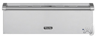 Viking Professional Custom Series VEWD530SS 30 Inch Warming Drawer with 1.6 cu. ft. Capacity, 450 Watt Element, 90-Â to 250-ÂF Temperature Settings, Moisture Selector and Multiple Design Options: Stainless Steel
