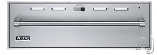 Image of Viking Outdoor Series VEWDO530SS 30 Inch Outdoor Warming Drawer with 1.6 cu. ft. Capacity, 450-Watt Element, Moisture Selector Control, 90-¦ - 250-¦F Temperature Settings and 2 Low Racks