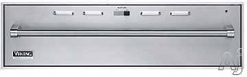 Image of Viking Outdoor Series VEWDO536SS 36 Inch Outdoor Warming Drawer with 2.0 cu. ft. Capacity, 550-Watt Element, Moisture Selector Control, 90-¦ - 250-¦F Temperature Settings and 2 Low Racks
