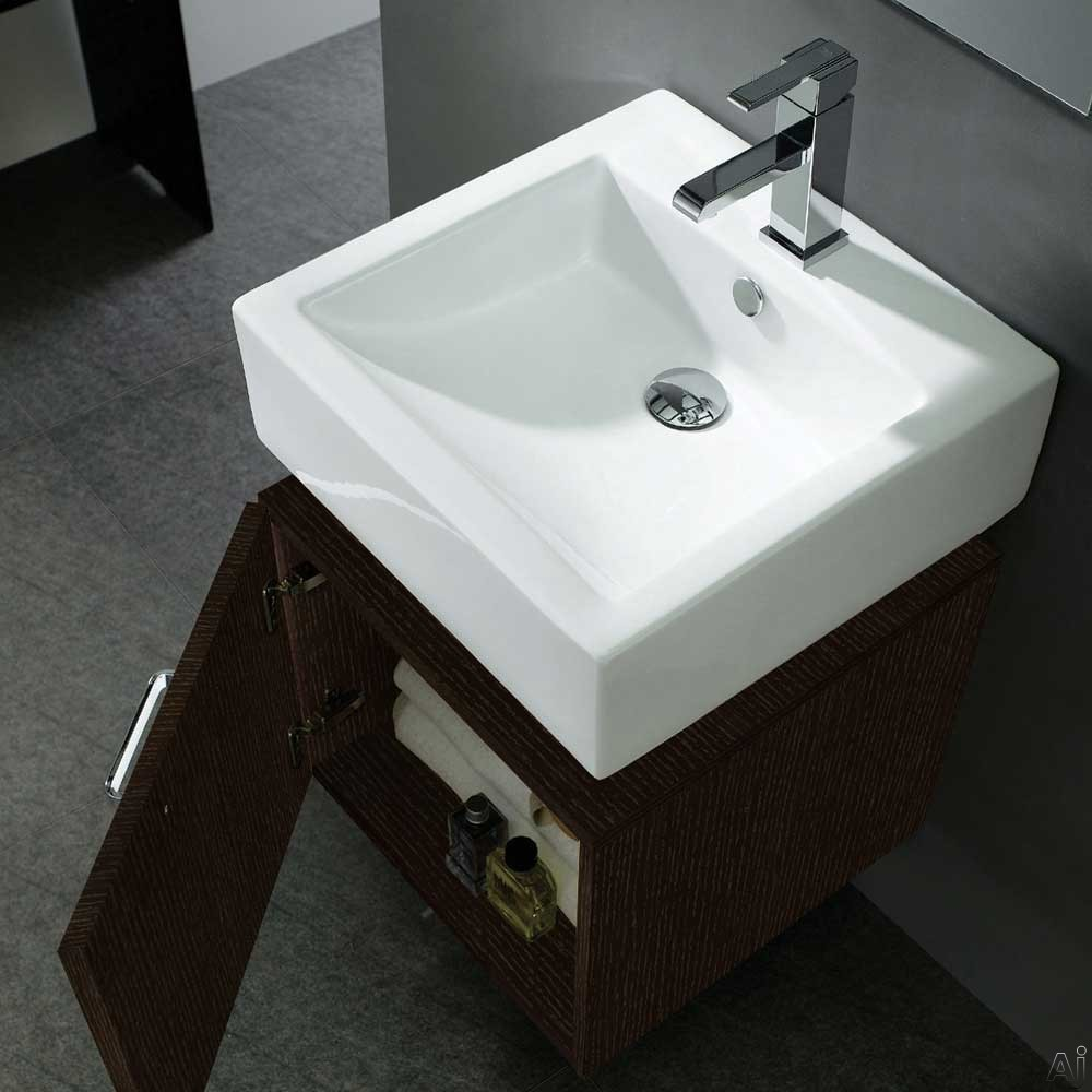 Above-Countertop Ceramic Sink