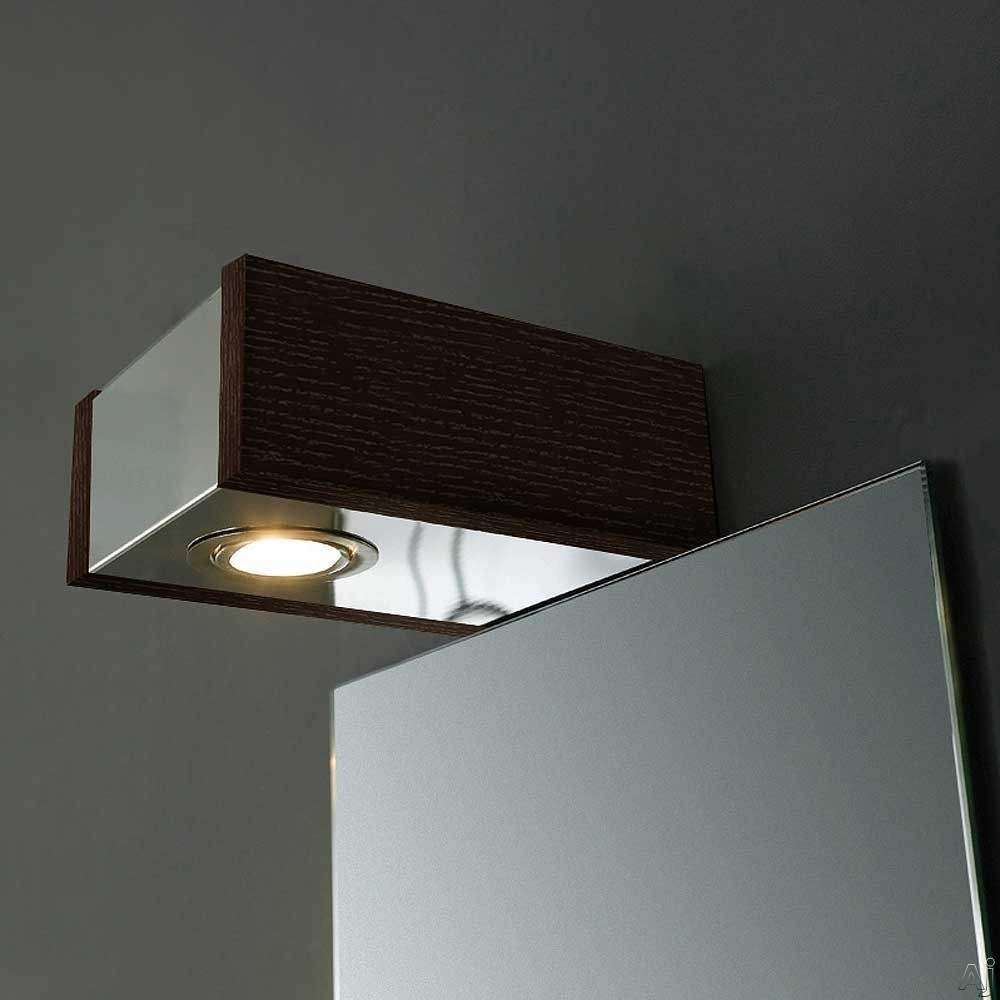 Mirror with Light Fixture