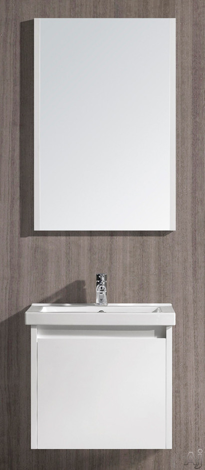 White Gloss Finish with Mirror