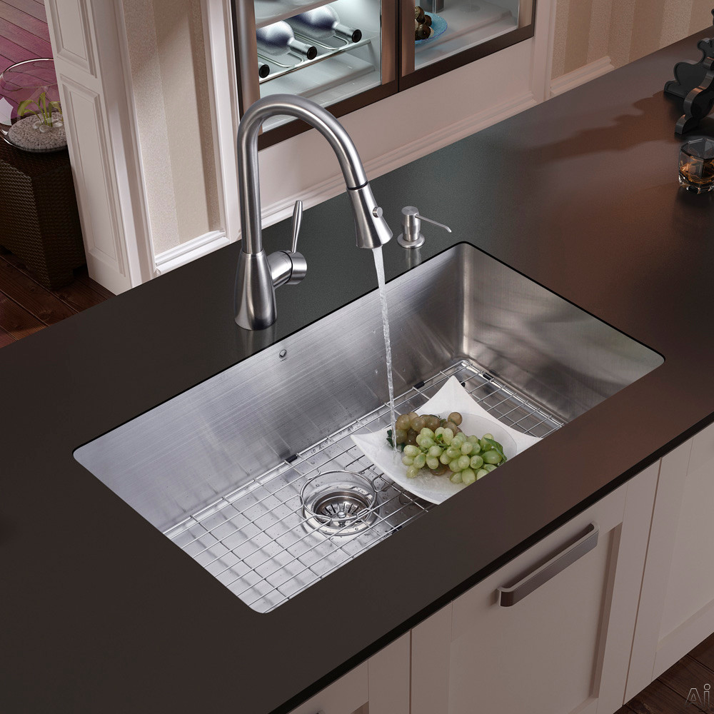 Kitchen Sink : Home > Sinks & Faucets > Sinks > Stainless Steel > VG15049