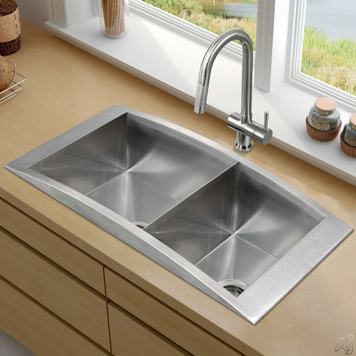 Stainless Steel Sink with 11