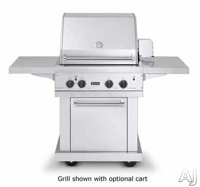 Viking vgbq3002rel 30 built in gas grill with 563 sq in for Viking built in grill