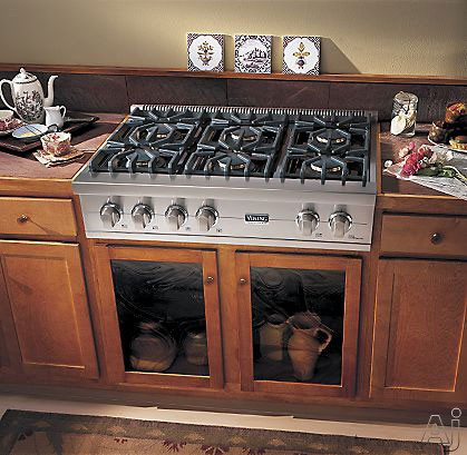Viking Vgrt5364gss 36 Inch Pro Style Gas Rangetop With 4