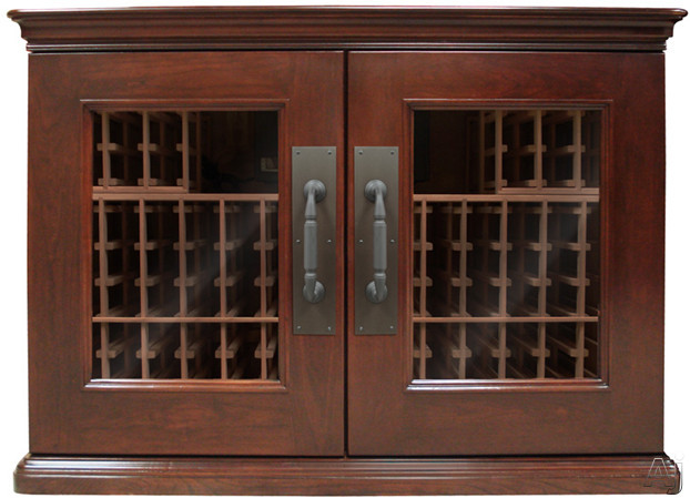 "Vinotemp Sonoma LUX Series VINOSONOMA296L 63"" 296-Model Credenza Wine Cabinet with 192-Bottle, U.S. & Canada VINOSONOMA296L"