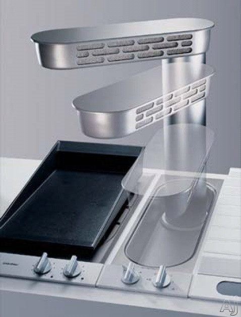 Gaggenau vario 200 series vl051707 7 downdraft for Best kitchen exhaust system