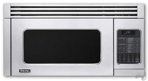 Viking Professional Series VMOR205SS 1.1 cu. ft. Over-the-Range Microwave Oven with 300 CFM Venting System, 1,400 Cooking Watts, 4 Convection Settings, 10 Power Levels and Auto-Sensor
