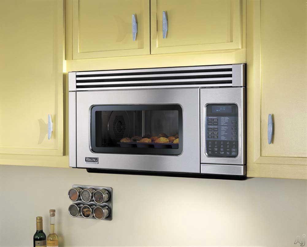 Viking Vmor205ss 1 1 Cu Ft Over The Range Microwave Oven