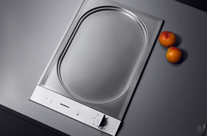 gaggenau vp230610 12 electric teppan yaki cooktop with. Black Bedroom Furniture Sets. Home Design Ideas