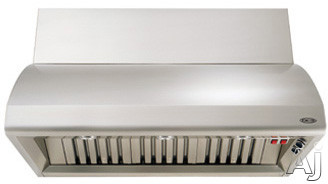 DCS Professional Series VS48 48 Inch Wall Mount Hood with 1200 CFM Internal Blower and Stainless Steel Baffle Filters